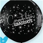 Jumbo Congrats Grad Latex<br>2 pack