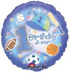 1st Birthday All Star 3 pack