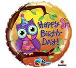 Birthday Owl<br>3 pack