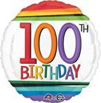 100th Birthday Rainbow 3 pack