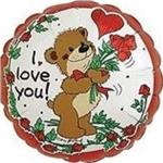 I Love You Suzy Zoo Bear with Roses<br>3 pack