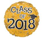 Class of 2018<br>Gold<br>3 pack