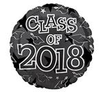 Class of 2018<br>Black<br>3 pack