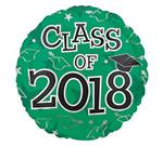 Class of 2018<br>Green<br>3 pack