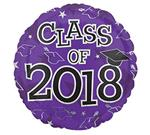 Class of 2018<br>Purple<br>3 pack