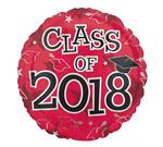 Class of 2018<br>Red<br>3 pack