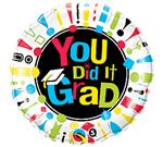 Con Grad You Did It!<br>White<br>3 pack