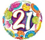 21st Birthday Dots & Glitz 3 pack