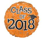 Class of 2018<br>Orange<br>3 pack