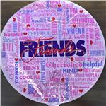 Friends Pink<br>3 pack