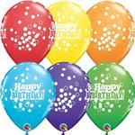 11in Birthday Confetti Dots<br>50 count