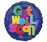 Get Well<Multi-color Letters<br>3 pack