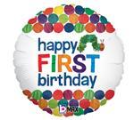 1st Birthday Very Hungry Caterpillar 3 pack