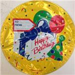 Gift Tag Birthday 3 pack