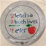 2 Teach is 2 Touch Lives<br>3 pack
