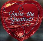 You're the Greatest Red Heart 3 pack