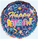 Retirement Blue Confetti<br>3 pack